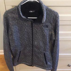 North Face zip up jacket
